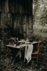 Photographe mariage forêt sauvage nature boheme bassin d'arcachon bordeaux