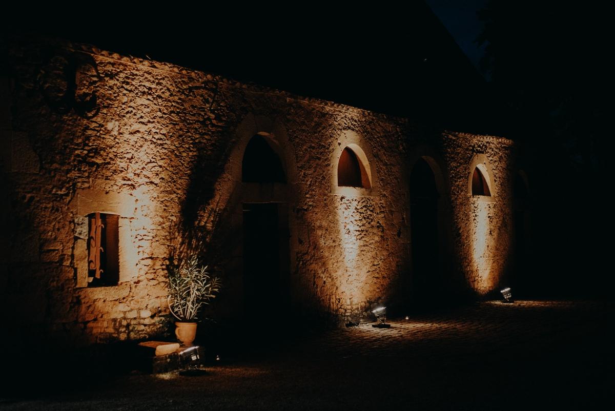 Photographe mariage château bourlie dordogne