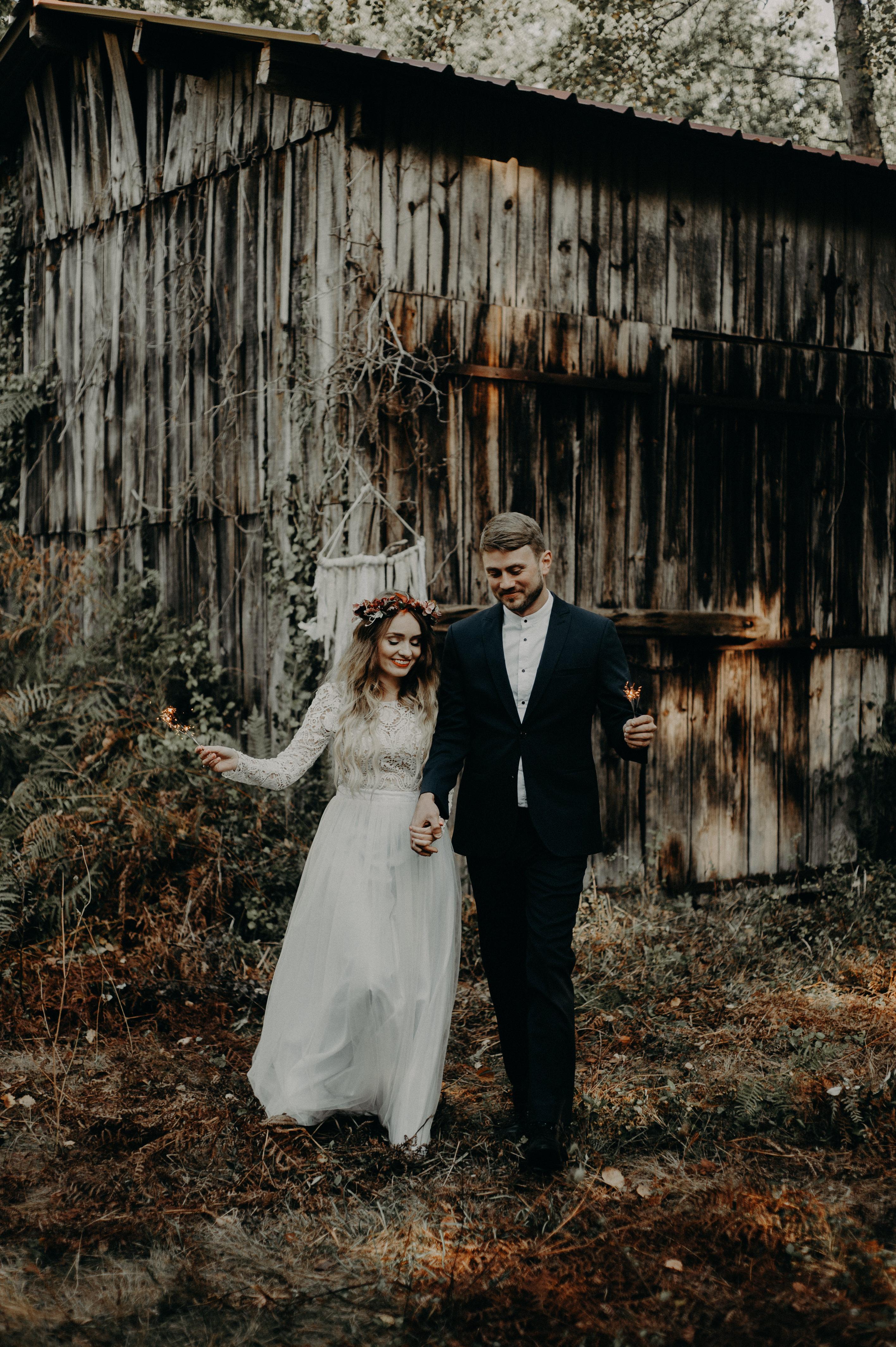Photographe mariage Bordeaux forêt