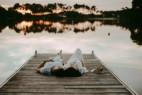Photographe seance grossesse couple bassin d'arcachon