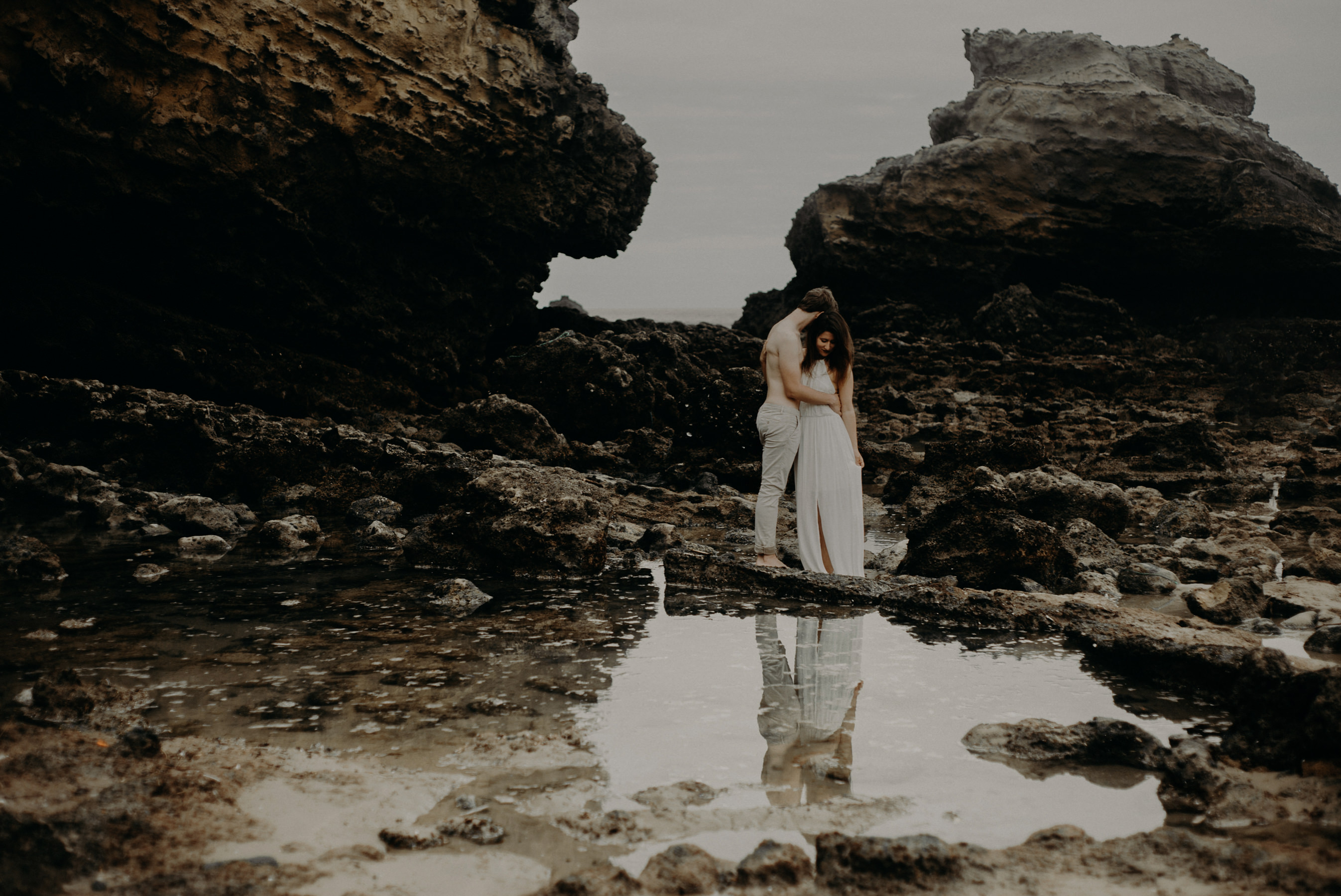 Photographe mariage couple biarritz séance engagement