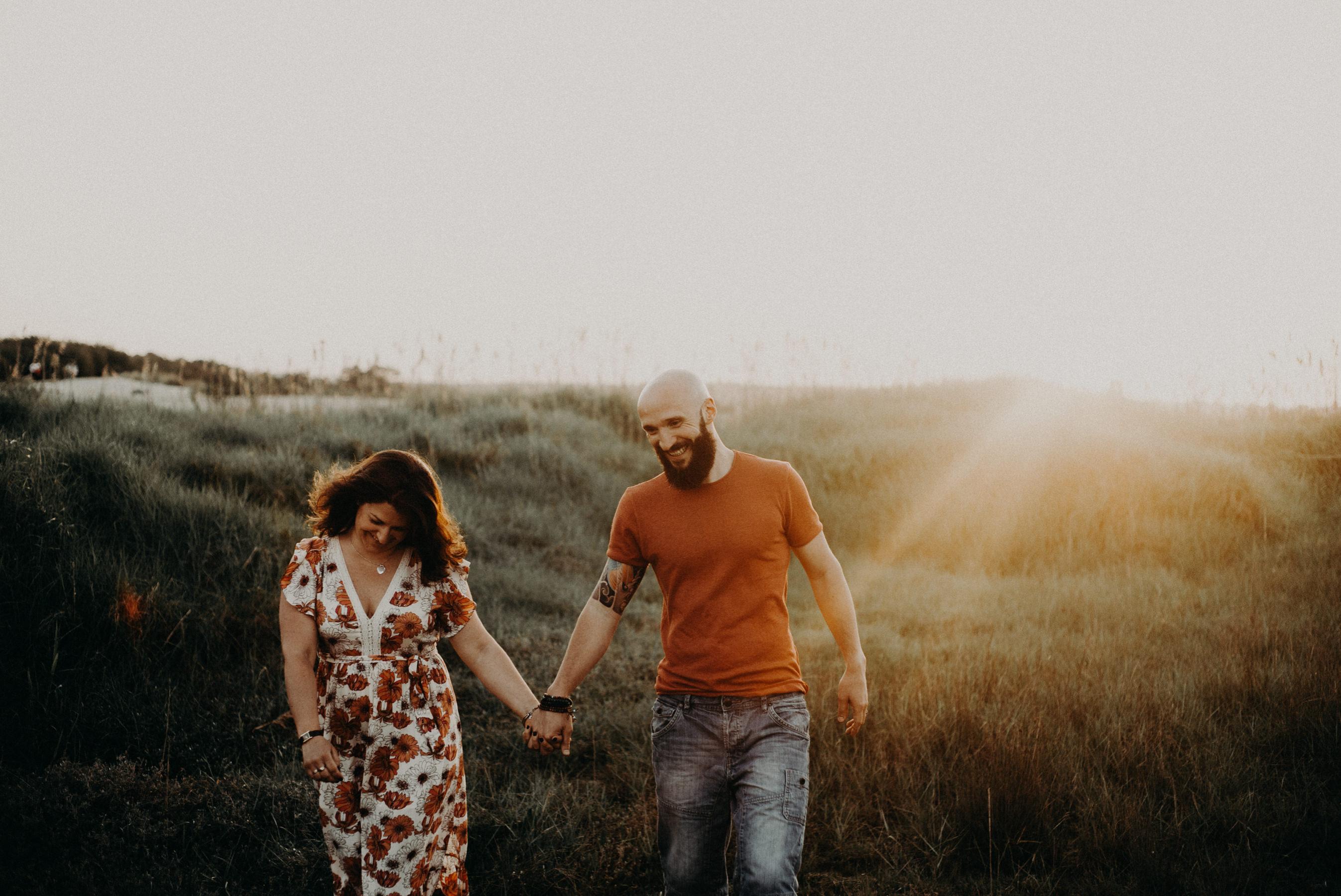 Photographe seance couple la hume plage