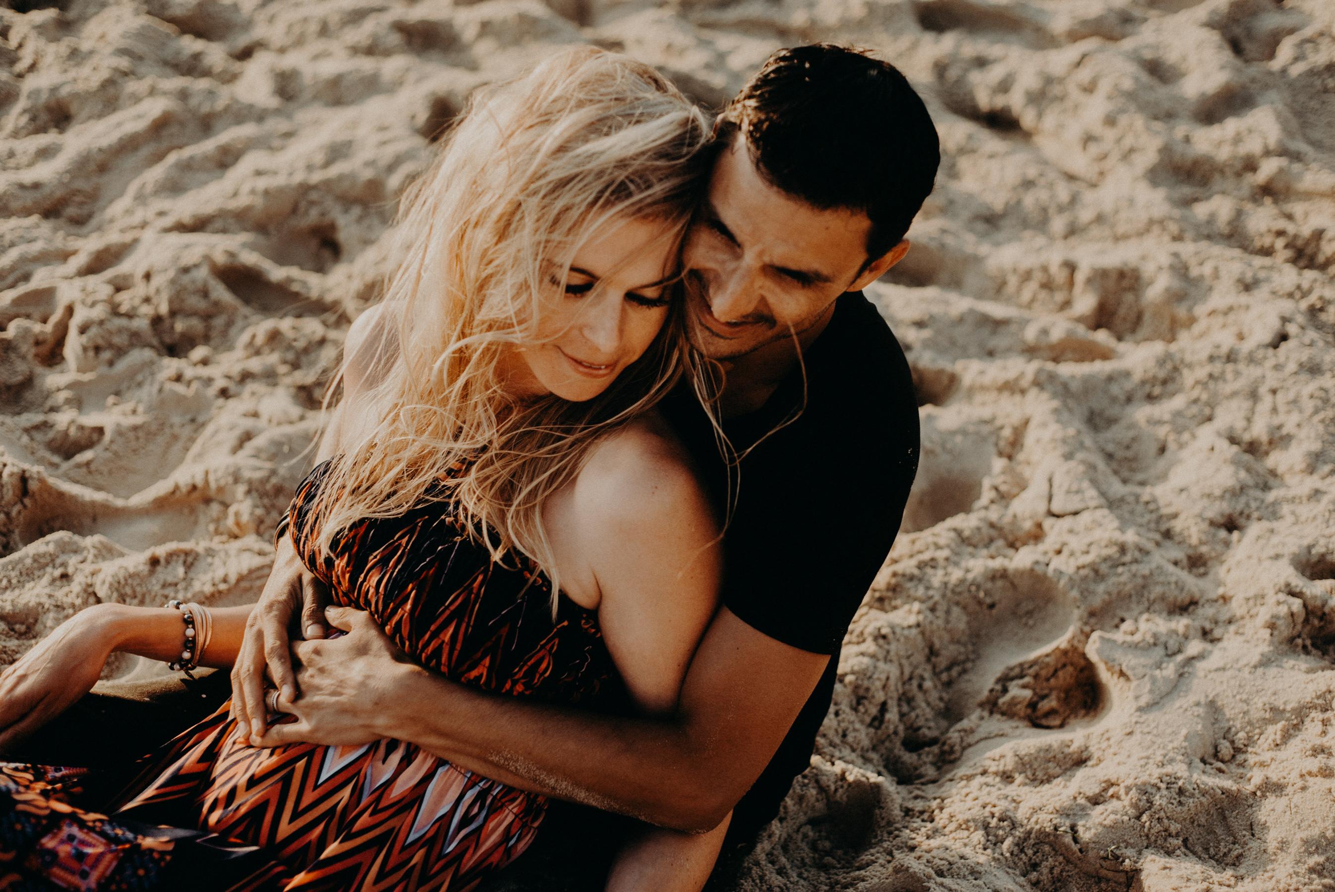 Photographe seance couple pyla corniche arcachon
