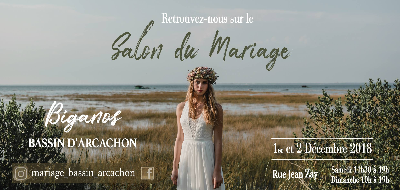 Salon du Mariage de Biganos, Bassin d'Arcachon 2018