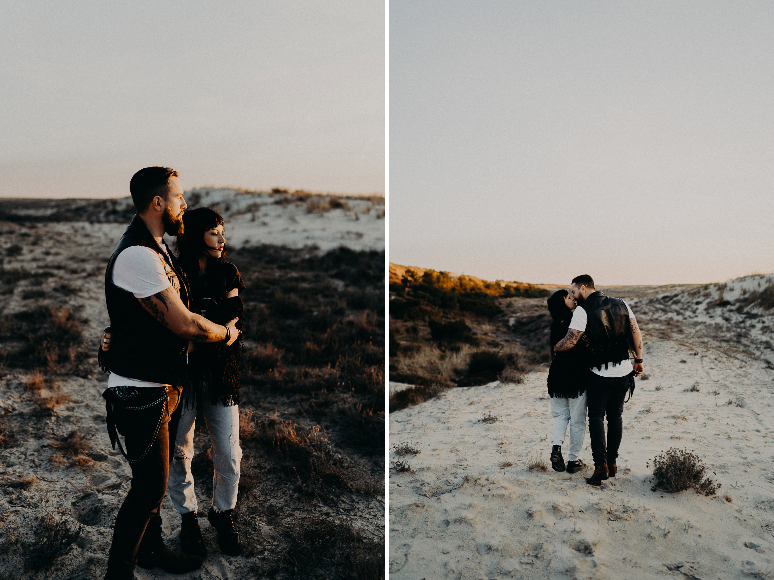 Photographe seance couple plage bassin